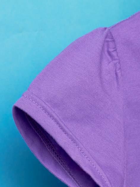 Fioletowy t-shirt dla dziewczynki HELLO KITTY                                  zdj.                                  6