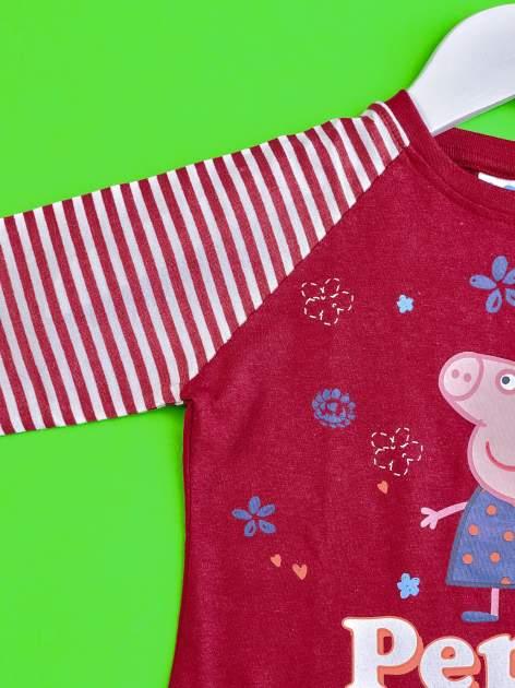 Fioletowy t-shirt dla dziewczynki ŚWINKA PEPPA                                  zdj.                                  3