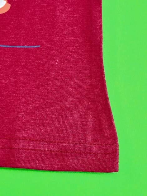 Fioletowy t-shirt dla dziewczynki ŚWINKA PEPPA                                  zdj.                                  6