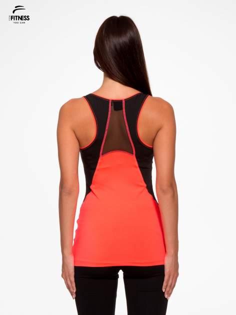 Fluoróżowy termoaktywny top sportowy z siatczką z tyłu ♦ Performance RUN                                  zdj.                                  4