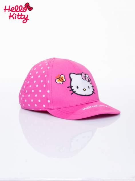 Fuksjowa czapka z daszkiem dla dziewczynki HELLO KITTY                                  zdj.                                  2