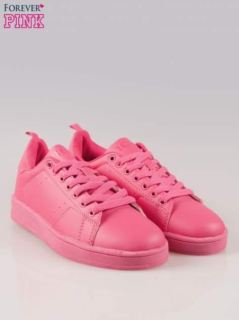 Fuksjowe buty sportowe damskie No Limit                                  zdj.                                  2