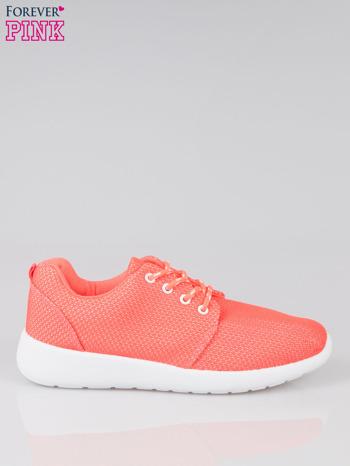Fuksjowe buty sportowe textile Hurry Up na podeszwie typu flex                                  zdj.                                  1