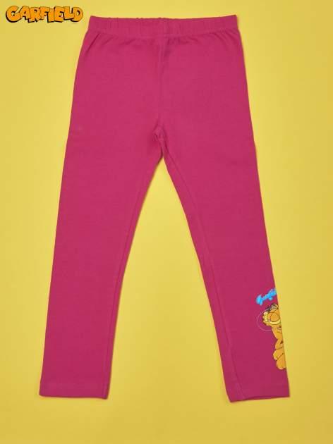 Fuksjowe legginsy dla dziewczynki GARFIELD                                  zdj.                                  1