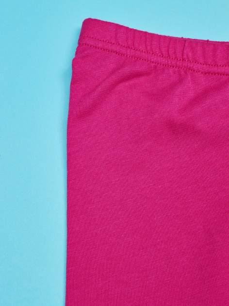 Fuksjowe legginsy dla dziewczynki HELLO KITTY                                   zdj.                                  3