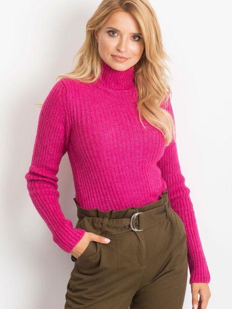Fuksjowy sweter Milo                              zdj.                              3