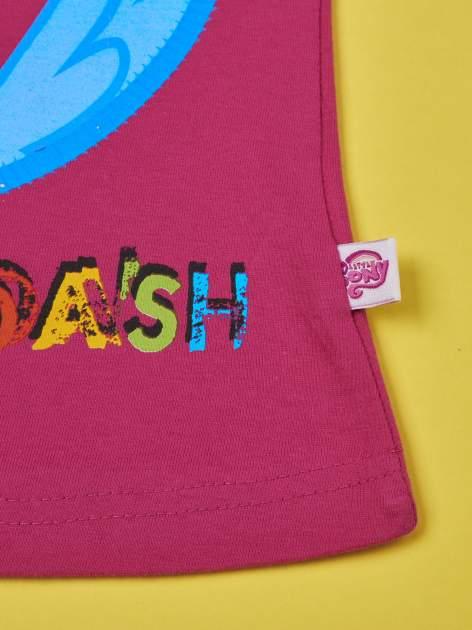 Fuksjowy t-shirt dla dziewczynki  motywem bajki MY LITTLE PONY                                   zdj.                                  5