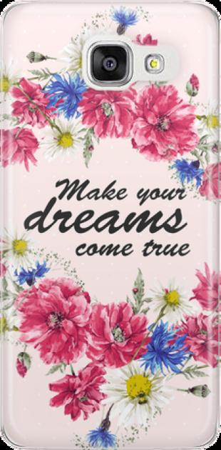 Funny Case ETUI SAMSUNG A5 2016 DREAMS FLOWERS