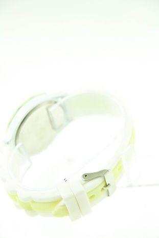 GENEVA Ecru-biały zegarek damski na silikonowym pasku                                  zdj.                                  3