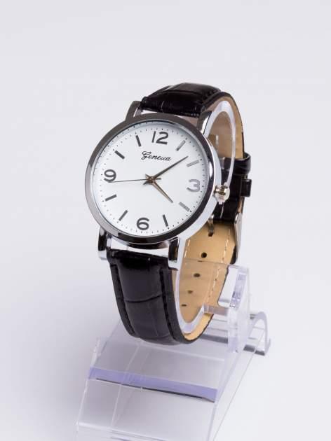 GENEVA Klasyczny zegarek Geneva na skórzanym pasku                                  zdj.                                  2