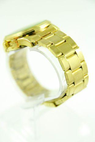 GENEVA Złoto-srebrny zegarek damski na bransolecie                                  zdj.                                  3