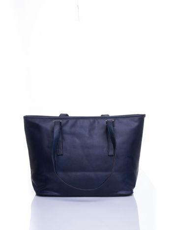 Ganatowa torba shopper bag z regulowanymi rączkami                                  zdj.                                  3
