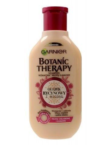Garnier Botanic Therapy Szampon do włosów osłabionych i łamliwych Olejek Rycynowy i Migdał  400 ml