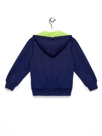 Granatowa bluza chłopięca z napisem HOLLY WEEK