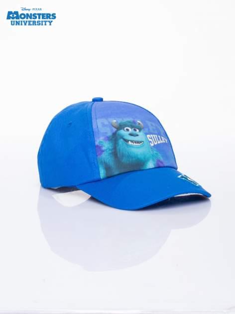 Granatowa chłopięca czapka z daszkiem UNIWERSYTET POTWORNY                                  zdj.                                  2