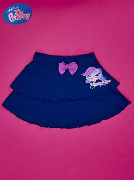 Granatowa spódnica dla dziewczynki LITTLEST PET SHOP                                  zdj.                                  1