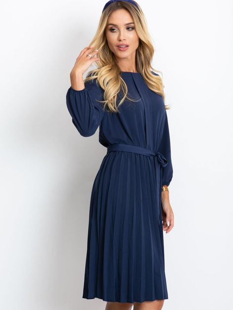 Granatowa sukienka Dakota                              zdj.                              3