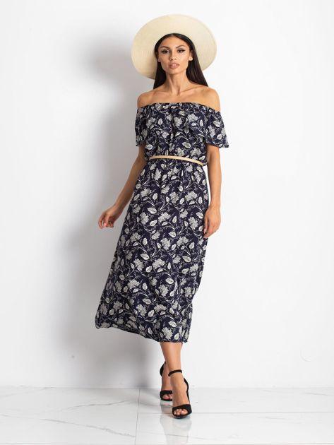 Granatowa sukienka Semen                              zdj.                              1