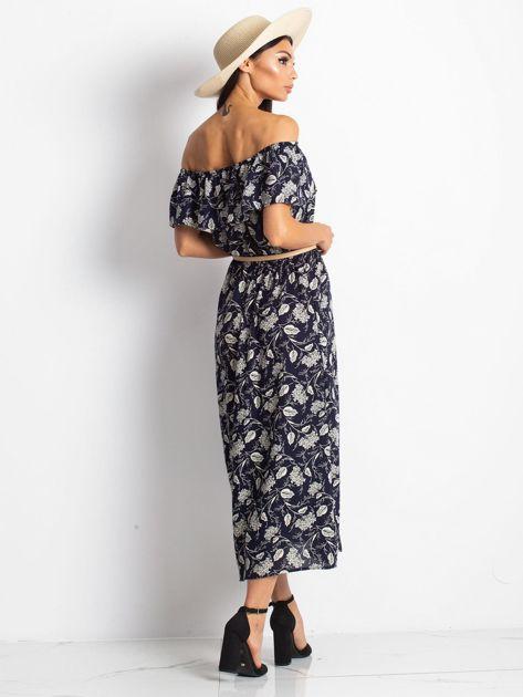 Granatowa sukienka Semen                              zdj.                              2