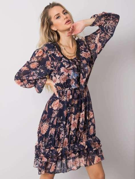 Granatowa sukienka Venture