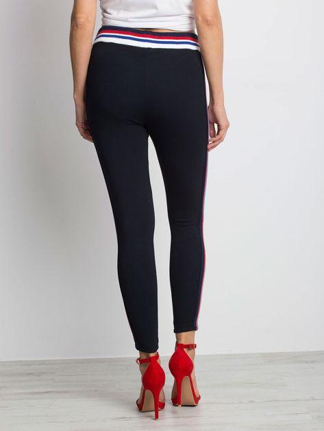 Granatowe spodnie Ensuring                              zdj.                              2