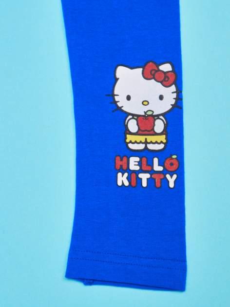 Granatowe legginsy dla dziewczynki HELLO KITTY                                  zdj.                                  4