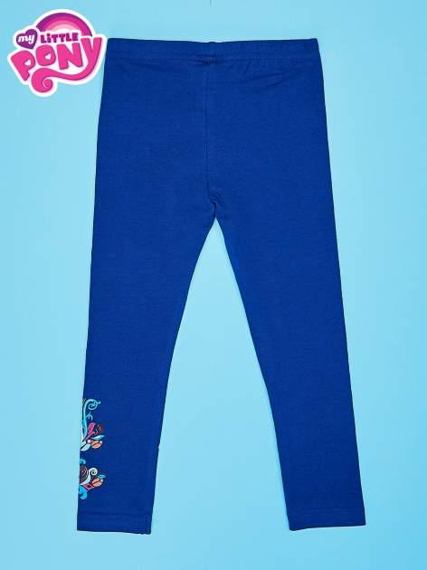Granatowe legginsy dla dziewczynki MY LITTLE PONY                                  zdj.                                  2