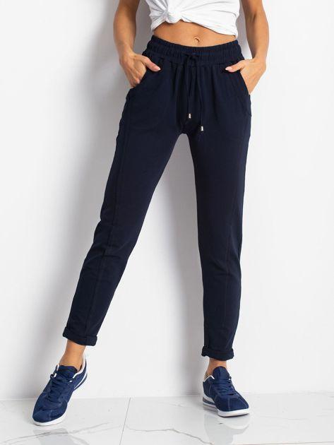 Granatowe spodnie Approachable                              zdj.                              1