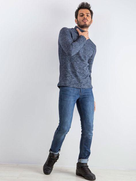 Granatowy sweter męski Allow                              zdj.                              5