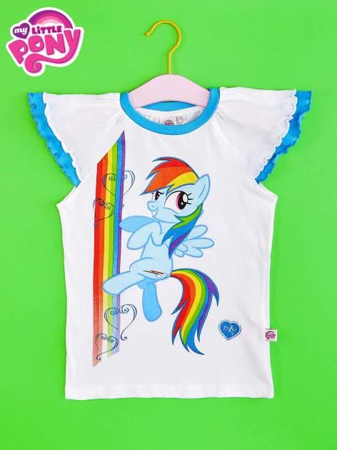 Granatowy t-shirt dla dziewczynki MY LITTLE PONY                                  zdj.                                  1