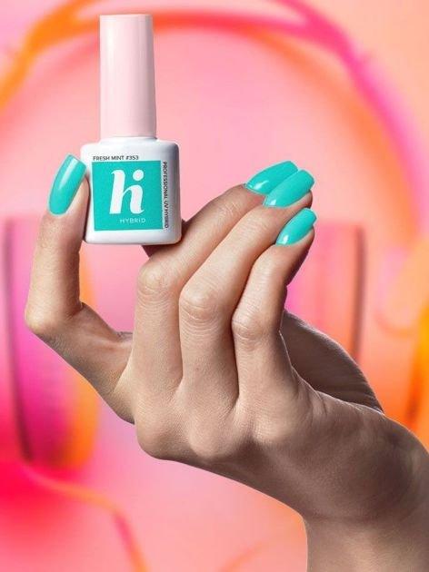Hi Hybrid Lakier hybrydowy Pop #353 Fresh Mint 5ml