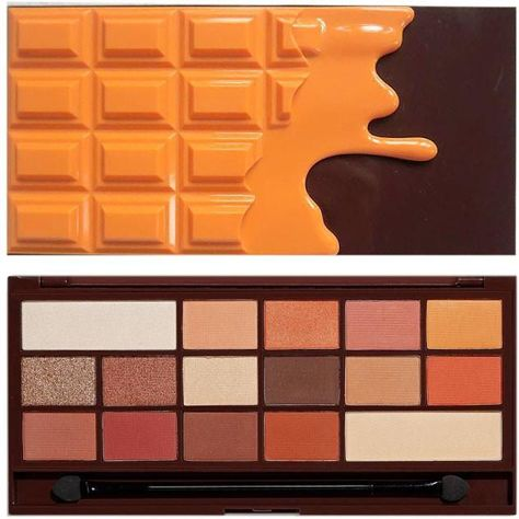 I Heart Revolution Chocolate Orange Palette Paleta 16 cieni do powiek 22g