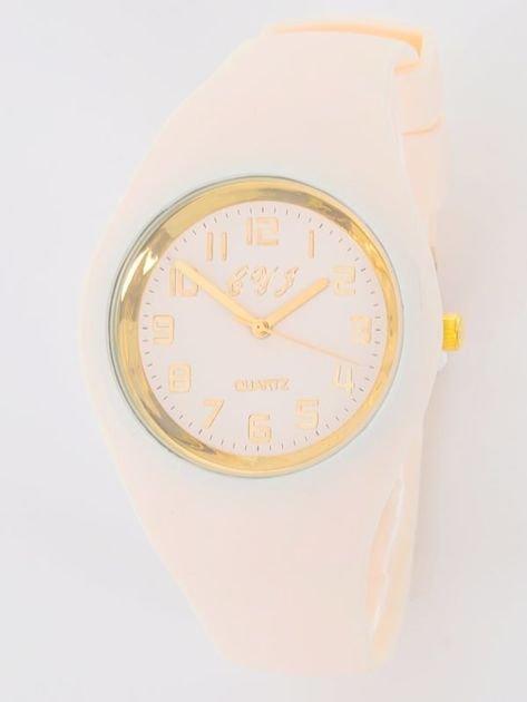 JELLY beżowy zegarek damski                               zdj.                              1