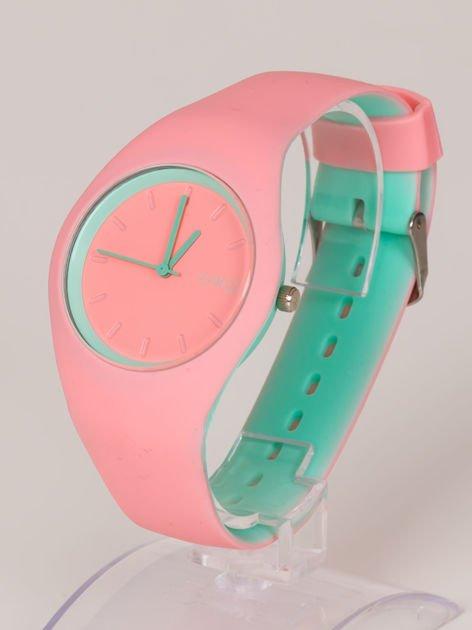 JELLY różowy zegarek damski HIT!