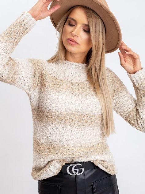 Jasnobeżowy sweter Agatha                              zdj.                              5