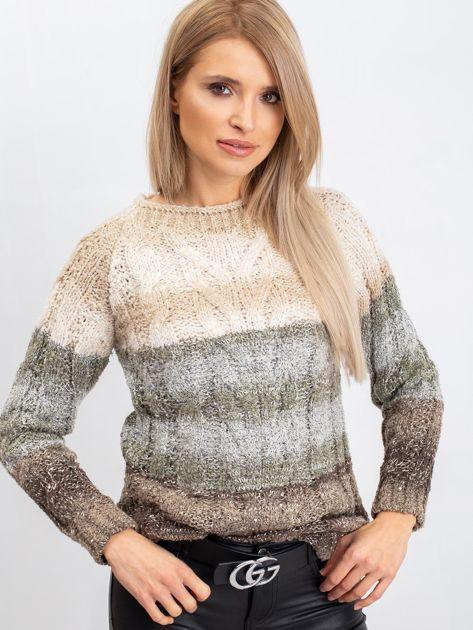 Jasnobeżowy sweter Nevermind                              zdj.                              6