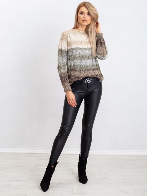 Jasnobeżowy sweter Nevermind                              zdj.                              4