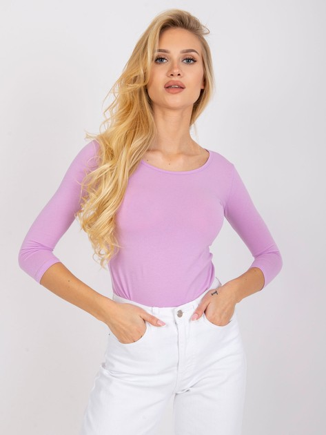 Jasnofioletowa bluzka Mona                              zdj.                              3
