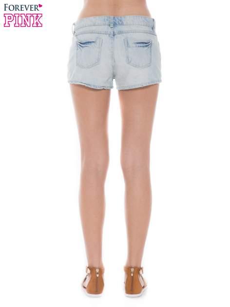Jasnoniebieskie jeansowe szorty                                  zdj.                                  2