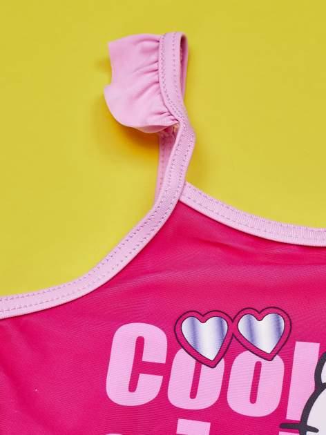 Jasnoróżowy strój kąpielowy dla dziewczynki HELLO KITTY                                  zdj.                                  3