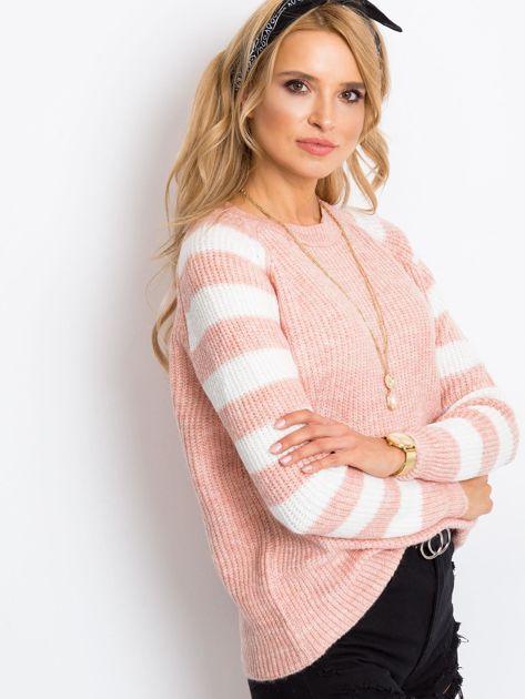Jasnoróżowy sweter Independent                              zdj.                              5