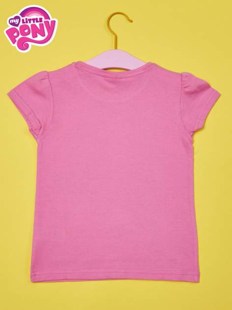 Jasnoróżowy t-shirt dla dziewczynki MY LITTLE PONY                                  zdj.                                  2