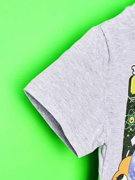 Jasnoszary t-shirt chłopięcy GUMBALL                                  zdj.                                  6