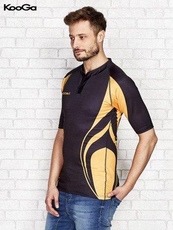 KOOGA Czarny t-shirt męski                                  zdj.                                  3