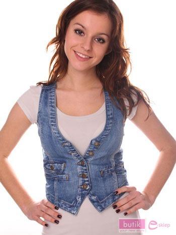 Kamizelka jeansowa                                  zdj.                                  5