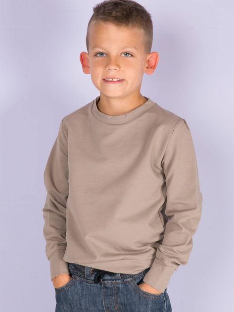 Kawowa bluza młodzieżowa