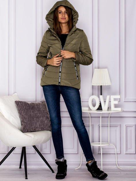 Khaki kurtka BEST CLASSIC                                  zdj.                                  6