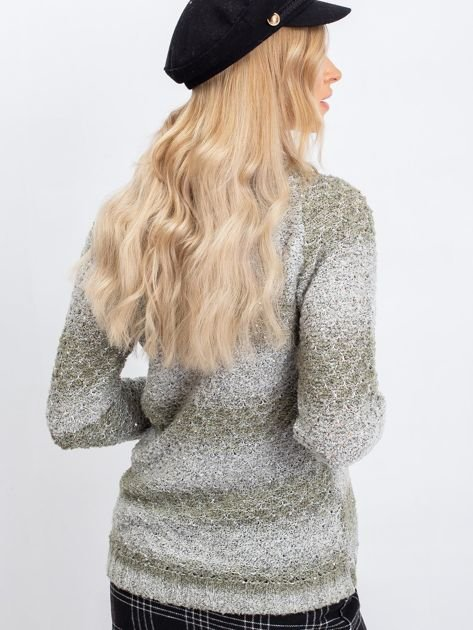 Khaki sweter Broadway                              zdj.                              2