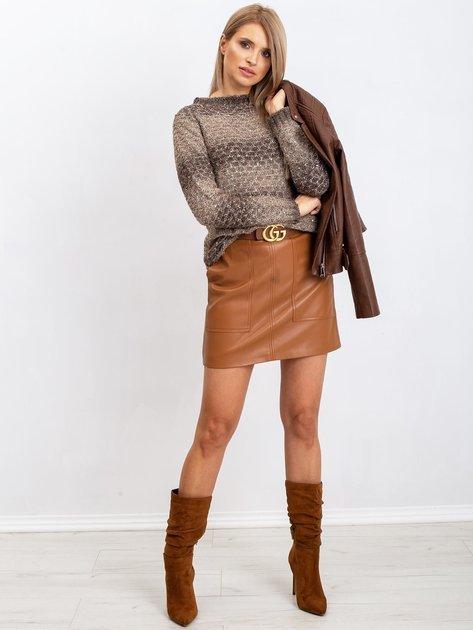 Khaki sweter Loop                              zdj.                              4