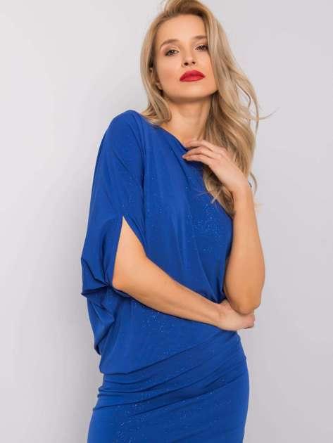 Kobaltowa sukienka Marguerite